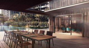 Avenue-south Residences-Poolside-Dining-Verandah
