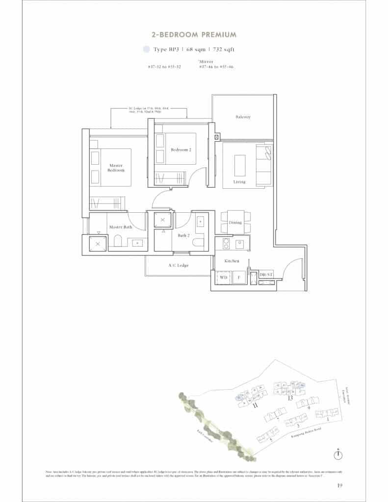 Avenue South Residence Floor Plan