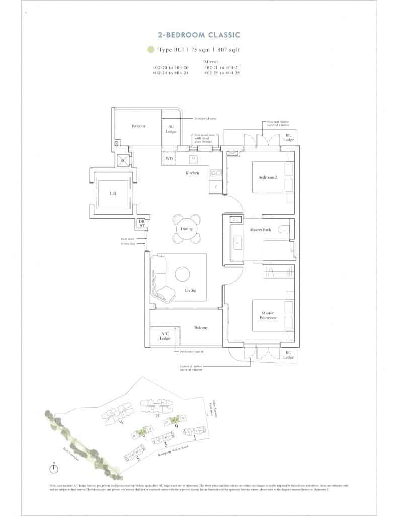 Avenue South Residence Floor Plan 4