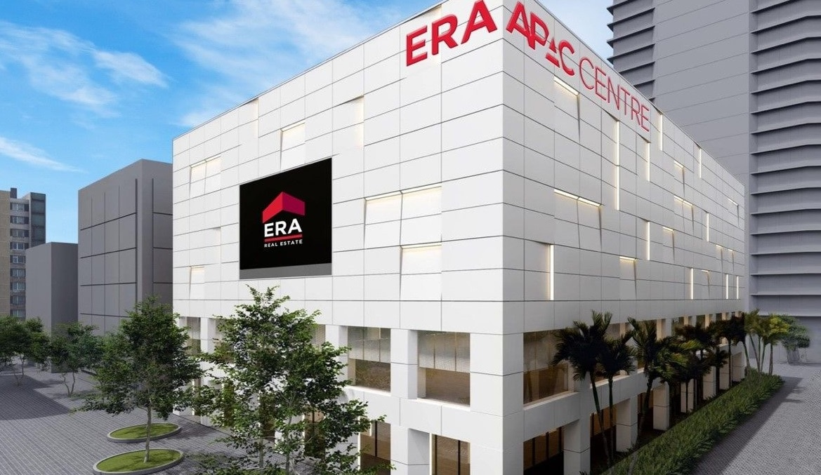 An artist impression of the renovated ERA APAC Centre. The renovation will add a media room and co-working space for agents